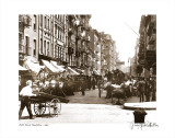 Mott Street  Manhattan  New York  c1907