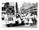 Pretzel Vendor  Brooklyn  New York  c1956