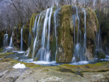 Arrow Bamboo Lake Waterfall in Jiuzhaigou National Park