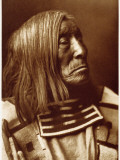 Portrait of Famous Warrior  Lone Tree-Apsroke  Born in 1828