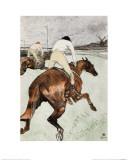 Le Jockey Giclée par Henri De Toulouse-Lautrec