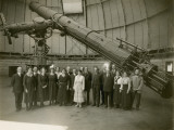 Albert Einstein and the Staff of Yerkes Observatory