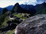 A View of the Inca City of Machu Picchu