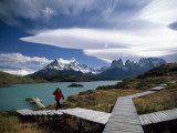 Patagonia's Craggy Paine Massif Rises Beyond Lake Pehoe