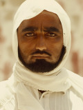A Portrait of a Traditionally Dressed Saudi Man