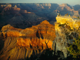 Sunlight on an Observation Platform at Mather Point