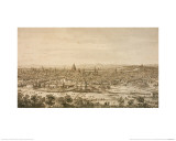 View of London from the North  a Drawing
