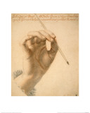 Right Hand of Artemisia Gentileschi Holding a Brush