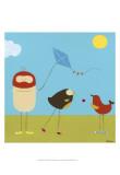 Sunny Day Birds I
