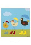 Rainy Day Birds II