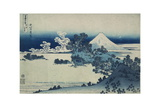 Shichiri Beach in Sagami Province  Katsushika Hokusai  Japan  Edo Period 1830-1833