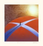 A Crossroads Reproduction pour collectionneurs par Mackenzie Thorpe