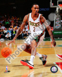 Brandon Jennings 2010-11 Action