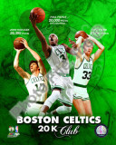 Boston Celtics 20 000 Points Club Portrait Plus