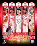 2010-11 Houston Rockets Team Composite