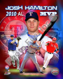 Josh Hamilton 2010 Americal League MVP Portrait Plus