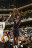Atlanta Hawks v Indiana Pacers: Jamal Crawford and Brandon Rush