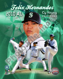 Felix Hernandez 2010 American League Cy Young Winner Portrait Plus
