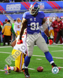 Justin Tuck 2010 Action