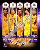 2010-11 Los Angeles Lakers Team Composite