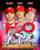 "2010 Philadelphia Phillies ""H20"" Portrait Plus"