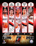 Portland Trailblazers 2010-11 Team Composite