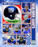 2010 New York Giants Team Composite