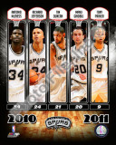 2010-11 San Antonio Spurs Team Composite