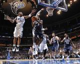 Memphis Grizzlies v Orlando Magic: Tony Allen and Quentin Richardson
