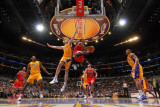 Chicago Bulls v Los Angeles Lakers: Derrick Rose and Pau Gasol