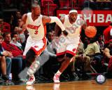 Dwyane Wade & LeBron James 2010-11 Action