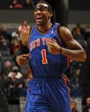 New York Knicks v Charlotte Bobcats: Amar'e Stoudemire