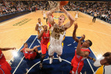 Los Angeles Clippers v Indiana Pacers: Tyler Hansbrough and Eric Bledsoe
