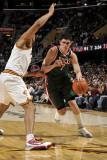 Milwaukee Bucks v Cleveland Cavaliers: Ersan Ilyasova and Ryan Hollins