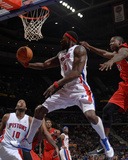 Toronto Raptors v Detroit Pistons: Ben Wallace and Ed Davis