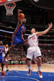 New York Knicks v Los Angeles Clippers: Ronny Turiaf and Blake Griffin