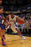 New York Knicks v Sacramento Kings: Luther Head and Danilo Gallinari