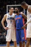 Detroit Pistons v Orlando Magic: JJ Redick and Ben Gordon