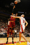 Cleveland Cavaliers v Miami Heat: Mo Williams and Zydrunas Ilgauskas