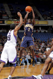Indiana Pacers v Sacramento Kings: Darren Collison and Luther Head