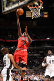 Chicago Bulls v San Antonio Spurs: Luol Deng and Tony Parker