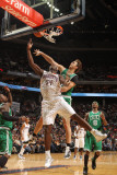 Boston Celtics v Charlotte Bobcats: Semih Erden and Kwame Brown