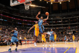 Washington Wizards v Los Angeles Lakers: Trevor Booker and Ron Artest
