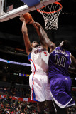Sacramento Kings v Los Angeles Clippers: DeAndre Jordan and Samuel Dalembert