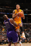 Sacramento Kings v Los Angeles Lakers: Matt Barnes and DeMarcus Cousins