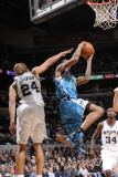 New Orleans Hornets v San Antonio Spurs: Trevor Ariza and Richard Jefferson