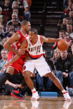 Los Angeles Clippers v Portland Trail Blazers: Eric Gordon and Andre Miller