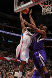 Sacramento Kings v Los Angeles Clippers: Baron Davis and Carl Landry
