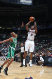 Boston Celtics v Atlanta Hawks: Joe Johnson and Ray Allen