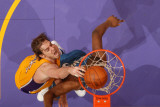 Washington Wizards v Los Angeles Lakers: Pau Gasol and Kevin Seraphin